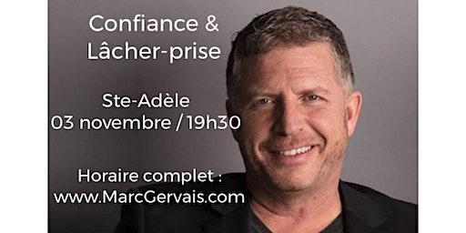 STE-ADÈLE - Confiance /Lâcher-prise 15$