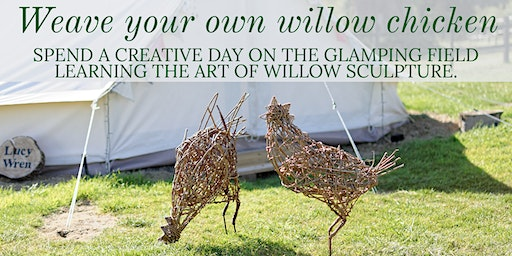 Weave your own willow chicken