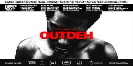 OUTDEH - The Youth of Jamaica | Amsterdam Premiere tickets
