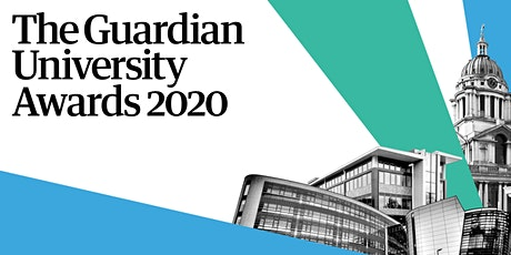 Enter the Guardian University Awards 2020 (extended) tickets