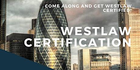 Westlaw Basic Certification - University of Bristol tickets
