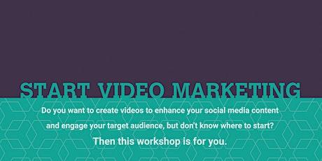 Start Video Marketing Workshop tickets