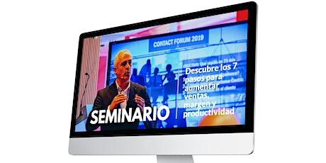"""Seminario """"CÓMO CENTRAR UNA EMPRESA EN EL CLIENTE"""" entradas"""