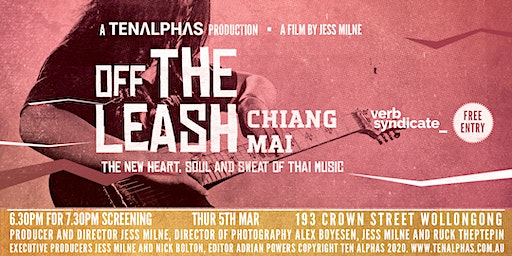 TEN ALPHAS present a FILM SCREENING - Off the Leash in Chiang Mai - A Film by Jess Milne