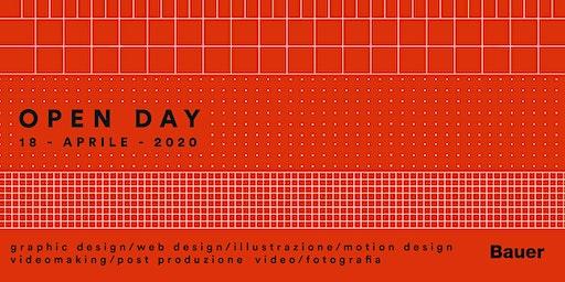 Open Day - 18 aprile 2020 - corsi annuali