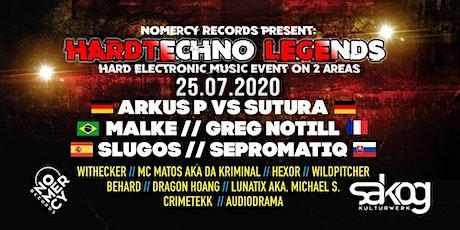 NoMercy Records pres. Hardtechno Legends/Arkus P./Malke/Sutura/Greg Notill Tickets