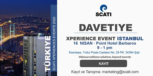 Xperience Event Istanbul, 16 Nisan 2020