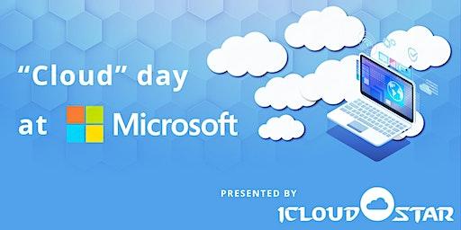 """Cloud"" Day at Microsoft"