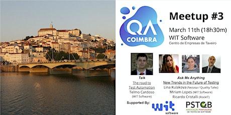 QA Coimbra #3 bilhetes