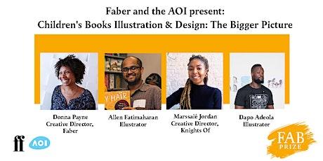 Faber & Faber - Children's Books Illustration & Design: The Bigger Picture tickets