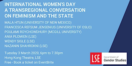 A Transregional Conversation on Feminism and the State tickets