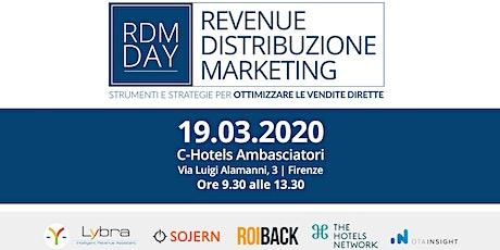 RDM DAY 2020 - Firenze biglietti
