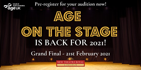 Pre-register for Age on the Stage 2021! tickets