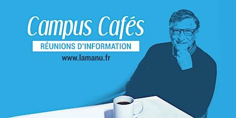 Campus Café à Amiens - Présentation des formations au numérique billets