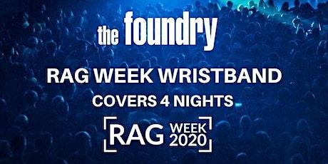 RAG WEEK WRISTBAND - MON/TUES/WED/THUR tickets