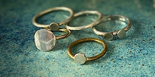 Create sterling silver stacking rings