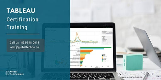 Tableau Certification Training in Perth, ON