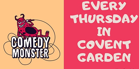 Stand Up Comedy in Covent Garden tickets