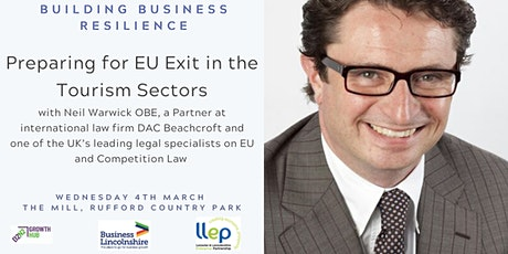 Building Business Resilience - Preparing for EU Exit in the Tourism Sector tickets
