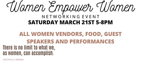 2nd Annual Women Empower Women Networking Event tickets