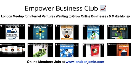 Empower Business Club London Meetup (For Online Businesses) tickets