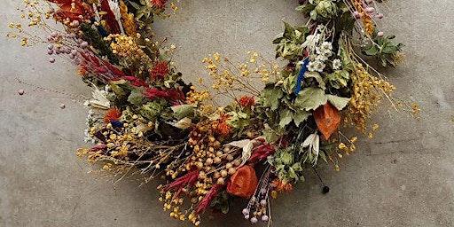 Dried Wreath Workshop- create your own bespoke dried wreath