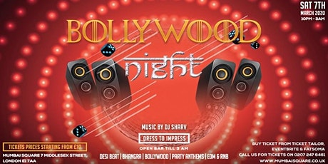 Bollywood Night // Live DJ Set tickets