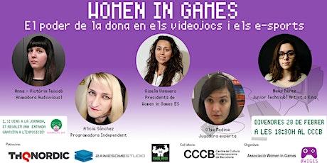 Women in Games: El poder de las mujeres en los videojuegos y los eSports entradas