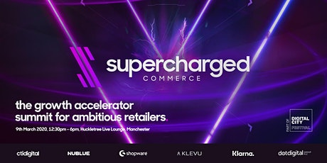 supercharged commerce | Digital City Fringe Event 2020 tickets