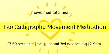 Tao Calligraphy Movement Meditation tickets