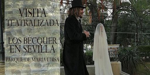 """Visita Teatraliza """"Los Bécquer en Sevilla"""", Parque de María Luisa"""