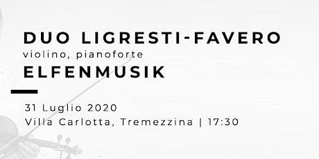 ELFENMUSIK - Enzo Ligresti (violino) Valter Favero (pianoforte) tickets