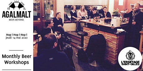 Agalmalt's Montly Beer Workshop # May: Hop ! Hop ! Hop ! tickets