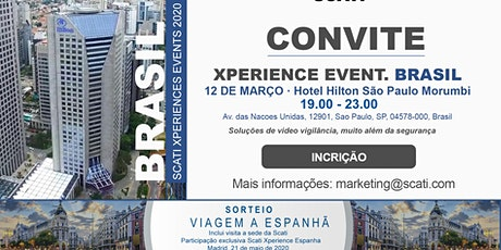 SCATI Xperience Event BRASIL (PT) ingressos