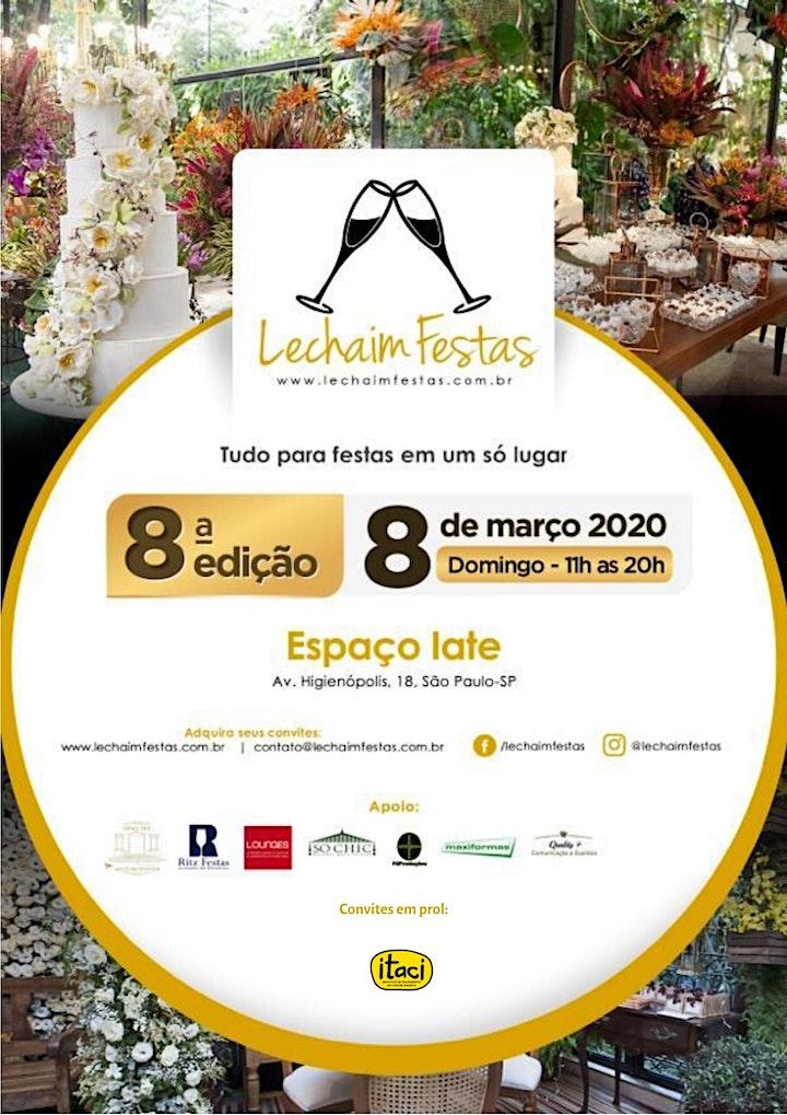 Imagem do evento 8a Lechaim Festas - Tudo para Festas num so Lugar