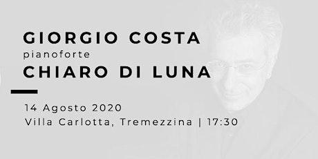 CHIARO DI LUNA - Giorgio Costa (pianoforte) biglietti