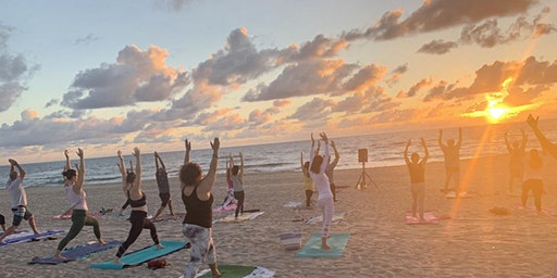 Sunrise Beach Yoga Delray Beach Every Saturday!