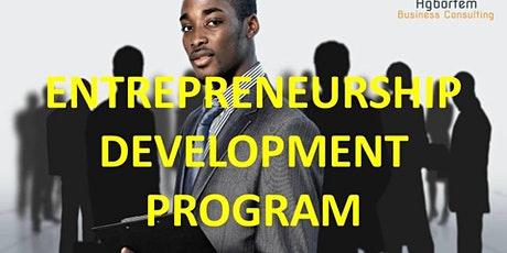 ENTREPRENEURSHIP DEVELOPMENT PROGRAM billets