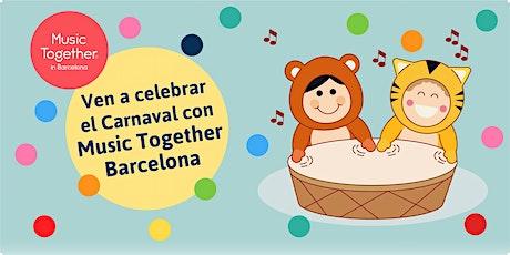 Celebra el Carnaval en familia con Music Together Barcelona entradas