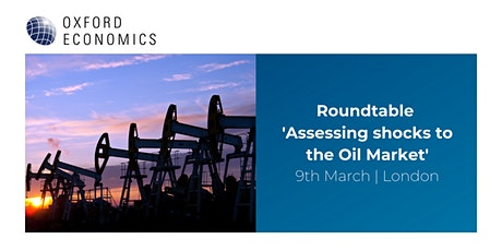 Roundtable 'Assessing shocks to the oil market' tickets