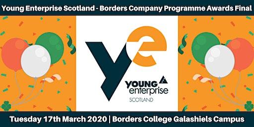 Young Enterprise Scotland - Borders Company Programme Awards Final 2020