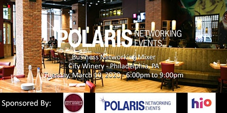 Polaris Networking Events - Business Networking Mixer @ City Winery tickets