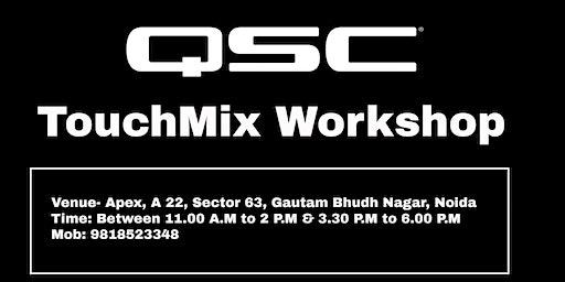 QSC TouchMix Workshop