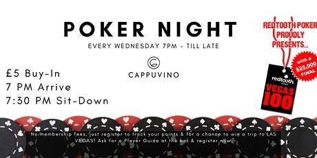 Cappuvino Poker Night - Lancaster tickets