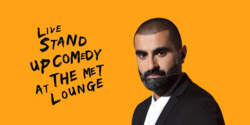 Live Stand up Comedy with Headliner Tez Ilyas
