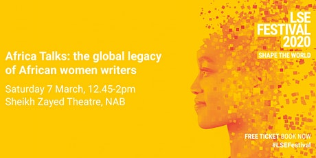 Africa Talks: the global legacy of African women writers tickets