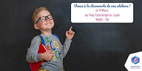 """Conférence """"Vivre Montessori à domicile"""" - Lyon billets"""