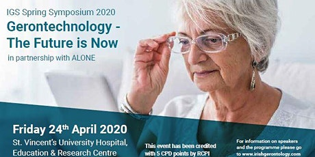 Irish Gerontological Society Spring Symposium 2020 tickets