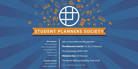 Usyd Welcome Week Stall 6-Student Planners Society tickets