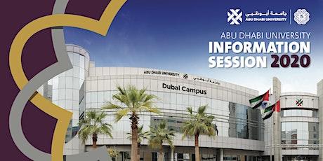Abu Dhabi University Information Session Dubai 22 Feb tickets